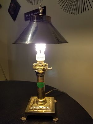 Antique Brass Lamp for Sale in Munster, IN