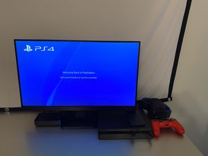 Dell Gaming Monitor & Sony PS4 Headset for Sale in Houston, TX