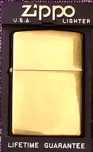 Collectibles-Slightly Used solid Brass -Zippo lighter for Sale in Lodi, CA