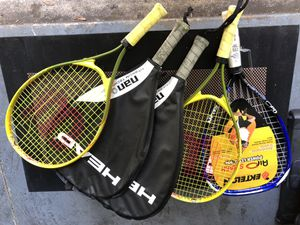 Tennis Rackets 10/piece for Sale in Tampa, FL