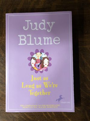 Just As Long As We're Together by Judy Blume for Sale in Montgomery, NY