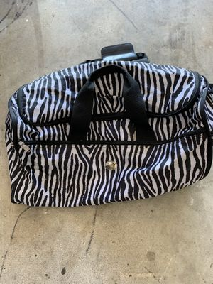 Zebra Duffle bag for Sale in Fort Lauderdale, FL