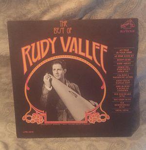 Rudy Vallee Vinyl LP Album for Sale in Barrington, IL