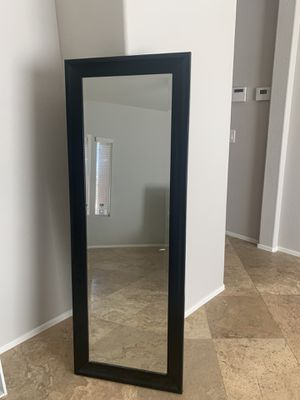 Long Black Mirror for Sale in Gilbert, AZ