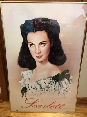 """Signed """"Gone With The Wind"""" Scarlett & one of Rhet as well for Sale in DARLINGTN HTS, VA"""