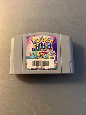 Pokemon Puzzle League nintendo 64 n64 for Sale in Anaheim, CA