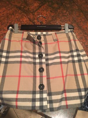 Authentic Burberry skirt size 6 for Sale in Denver, CO