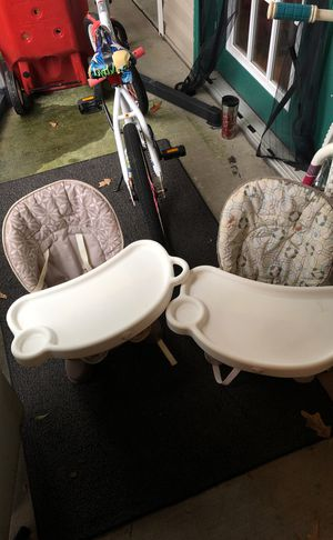 High chair seat - have 2 available for Sale in Virginia Beach, VA