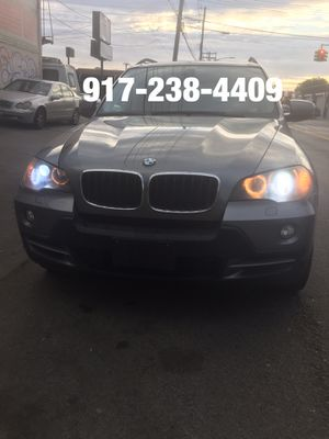 2008 BMW X5 AWD RUNS AND DRIVES GOOD NAVIGATION 3RD SEAT LEATHER SUNROOF for Sale in Brooklyn, NY