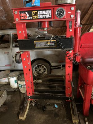 50 ton hydraulic press for Sale in East Providence, RI