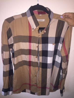 Burberry Shirt, Adult Small for Sale in Tampa, FL