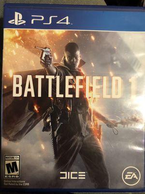 Battlefield 1 [PS4] for Sale in Abilene, TX