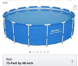 Pool, ladder, filter for Sale in Providence, RI