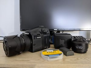 Mamiya 645 AFD ii with 28mp Digital Back and Extras for Sale in Naperville, IL