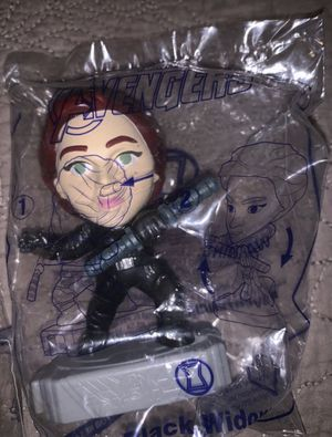 Marvel Avengers endgame McDonald's collectibles toy black widow for Sale in Bell, CA