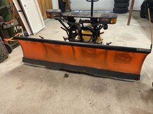 Curtis poly plow for Sierra 1500 or Silverado 1500 for Sale in Fall River, MA