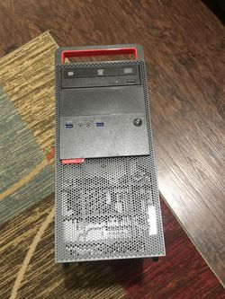 🤔 Lenovo M900 6th Gen Core i7-6700 QC 8GB Ram PC4 256GB SSD+1TB HDD 1GB GPU!! Windows 10 Pro 🕵️♀️ Pick Up Only $295 No Less😬 for Sale in Sanger,  CA