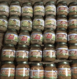 Earths best organic baby food and gerber baby cereal for Sale in Grand Prairie, TX