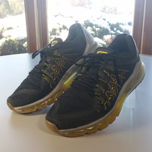 Nike Air Max 2016 Men's 10 Running Shoes Black Sneakers 698902-70 for Sale in Willowbrook, IL