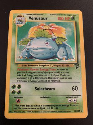 Pokemon Venusaur Base Set 2 18/130 for Sale in Santa Ana, CA