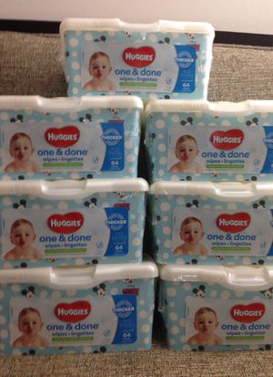 Sold Last 7 Packs HUGGIES Wipes. Please See All The Pictures and Read the description for Sale in Falls Church, VA