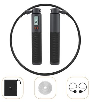 Simptech Jump Ropes for Fitness with Counter, Skipping Rope Include Cordless Ball + PVC Rope + Steel Speed Rope, Adjustable Exercise Workout Jumping for Sale in Lafayette, IN