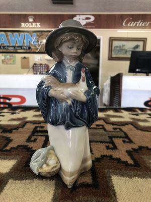 Lladro Figurine Girl and Rooster Chicken for Sale in Scottsdale, AZ