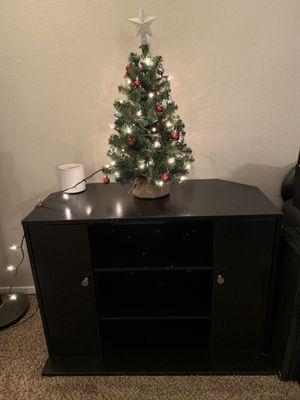 TV Stand (black) for Sale in Clovis, CA