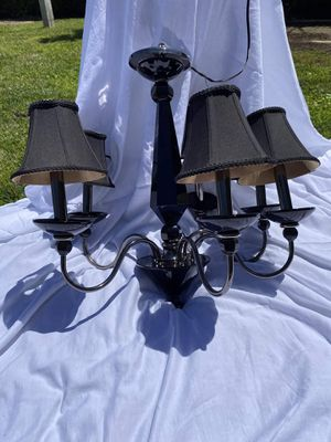 Black Chandelier Ceiling Light for Sale in Los Angeles, CA