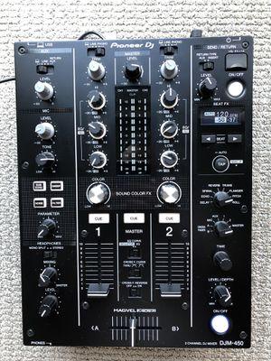 Pioneer DJM-450 2 Channel Mixer for Sale in Seattle, WA