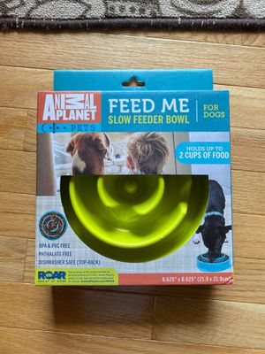 Dog Food Bowl slow feeder New for Sale in Vienna, VA