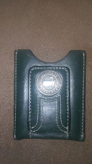 Money clip wallet,from the Masters Tournament, collector's please for Sale in Boston, MA