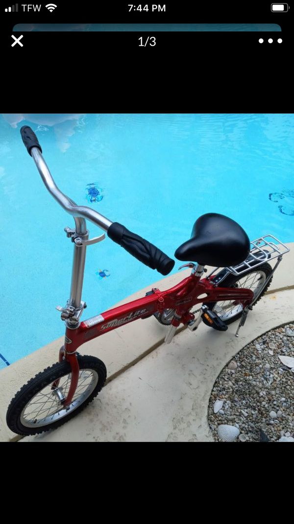 Bicycle folding bike