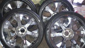 "22"" monderas rims and tires for Sale in Valdosta, GA"