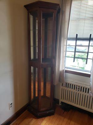 Curio Cabinet. Antique. for Sale in Newark, NJ