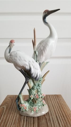 Lladro Figurine Courting Cranes for Sale in Fort Lauderdale, FL