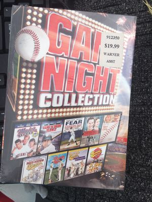 New boxed set of 9 baseball movies for Sale in Keller, TX
