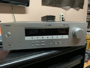 Yamaha Home Stereo Receiver, good working condition!!! for Sale in Jurupa Valley, CA