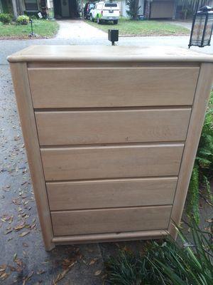 Wood bedroom furniture matching set for Sale in Auburndale, FL