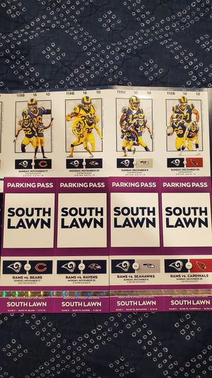 Rams Tickets and Tailgate - South Lawn for Sale in Fontana, CA