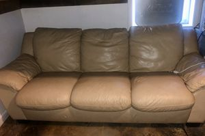 Leather Sofa for Sale in Hamburg, AR