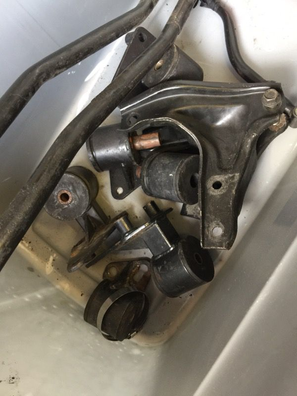 Bseries crx shift linkage and motor mounts