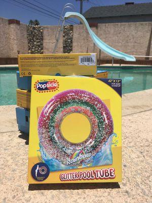Glitter pool tube for Sale in Rialto, CA
