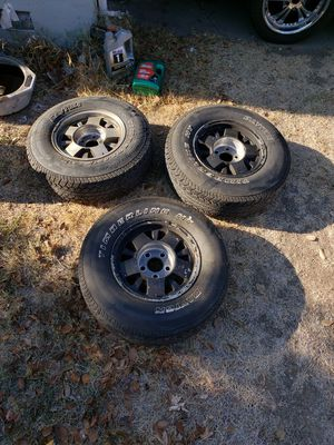 3 chevy truck rims for Sale in Stockton, CA