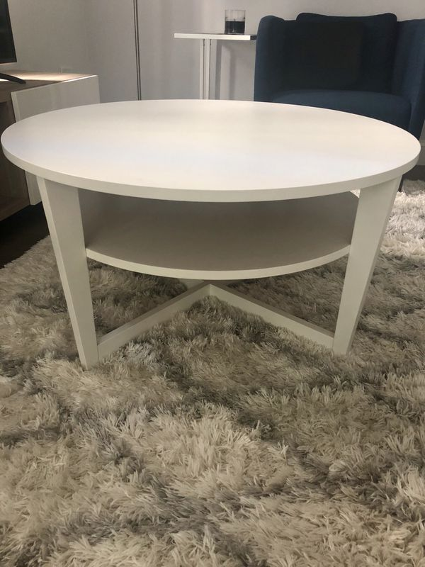 Ikea Vejmon Coffee Table White For Sale In New York Ny Offerup
