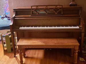 Unique piano and bench for Sale in Lincoln, NE