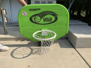 Pool deck basketball net for Sale in Schaumburg, IL
