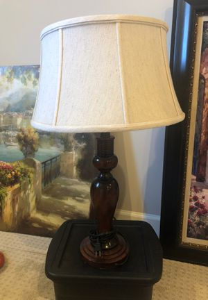 Ethan Allen Table lamp with wood base for Sale in Franklin, TN