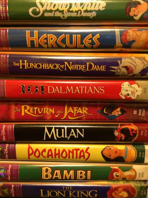 Disney Classic VHS Movies for Sale in Tullahoma, TN