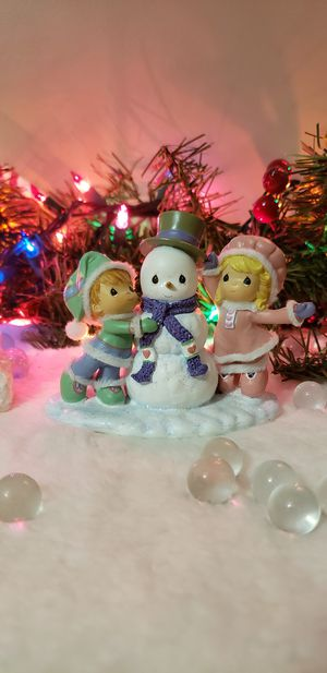 Precious Moments Christmas Our Friendship is Snow Much Fun for Sale in Romansville, PA